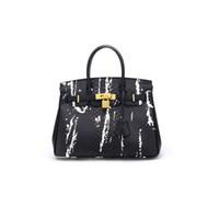 ingrosso sacchetto di cuoio grande di marca del modello-Borse del progettista del modello del coccodrillo di lusso 2018 Donne famose di marca Borse a tracolla delle borse di cuoio di grande capacità delle borse di cuoio genuini delle borse di cuoio di capacità