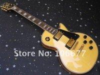gelbe elektrische gitarre neue ankunft großhandel-Neue Ankunft Epi Benutzerdefinierte Gelb LP E-gitarre Les Großhandel Paul Gitarre Qualität Freies Verschiffen