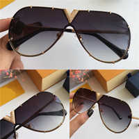 Wholesale best sunglasses brands resale online - Best selling style pilots frameless frame exquisite Diamond handmade top quality designer brand sunglasses UV400 protection sunglasses
