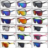 Wholesale Designer Coats For Women - FLYNN Brand Designer Sunglasses for man and Women Sunglasses Men Reflective Coating Square Sun Glasses Women outdoor 6 colors sun glasses