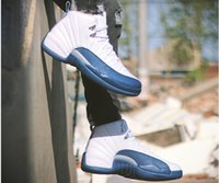 Wholesale Game Steps - Large stock shoes 12 keep Royal Blue Mens basketball shoes Taxi the master ovo white black good game wool sneakers beat step
