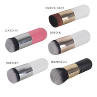 Wholesale tool bb for sale - Large Round Head Makeup Brushes for Foundation BB Cream Powder Cosmetic Make up Brush Flat Head Soft Hair Makeup Tools