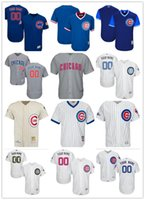 7901e68ca custom Men's women youth Majestic Chicago Cubs Jersey Personalized Name and  Number Blue Grey White Kids Girls Baseball Jerseys