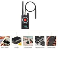 wifi kamera scanner großhandel-RF Scanner Detektor Mini Kamera Finder Bug Detector WiFi Signal GPS GSM Radio Telefon Geräte Finder Privat Schützen Sicherheit