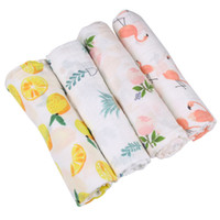 Wholesale swaddling clothes for sale - Emmababy new baby swaddle blanket and headband set floral baby blanket newborn photography props muslin clothes swaddle wrap set