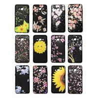 ingrosso bello telefono di progettazione-Cover Case Cover per cellulare Smooth Oil Surface Design Moda Bellissimi Fiori 46 Modelli per opzione