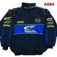 Wholesale Car Suits - 2018 Subaru Embroidery Cotton Nascar Moto Car Team Racing Jacket Suit