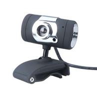 hd kamera tv kutusu toptan satış-USB 2.0 50.0 M HD Webcam Web Kamera Kamera Dijital Video Webcamera Bilgisayar PC Masaüstü Laptop için Mic ile Klip CMOS Görüntü TV Kutusu
