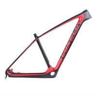 Cheap Costelo SOLO 2 carbon Mountain MTB Bicycle Carbon Frame Torayca UD Carbon Fiber Bicycle Frame 650B 27.5er 29er bike frame