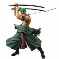 tek parça oyuncaklar zoro toptan satış-One Piece Zoro Rakam SHF PVC 18 cm Tek Parça Aksiyon Figürleri