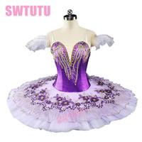 de6001c48 Venta al por mayor de Tutú Profesional Púrpura Del Ballet - Comprar ...