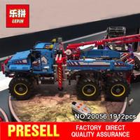 Wholesale Ultimate Models - Lepin 20056 1912Pcs Technic Series The Ultimate All Terrain 6X6 RC Truck Set Building Blocks Bricks Toys Model 42070 for Child