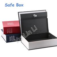 Wholesale wholesale english books - English Dictionary Book Safe Box 18*11.5*5.5cm Dictionary Book Tool Box Cash Money Safe