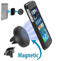 Wholesale magnets iphone for sale - Group buy Car Mount Air Vent Magnetic Universal Car Mount Phone Holder for iPhone s One Step Mounting Reinforced Magnet Easier Safer Driving