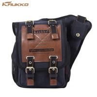 Wholesale travel sling bag for men - KAUKKO 5L Sling Bag with Magnetic Force Buckle for Male Casual Travel Men's Crossbody Bag Luxury Men Messenger Bags Patchwork shoulder