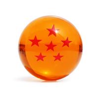 ingrosso pvc palla 7cm-Action Colour Boxed 1pcs 7cm Dragon Ball Star Crystal Ball Pvc Figure Dragonball Z Action Figure Toy 1 ~ 7 Star Selezionabili Gratis
