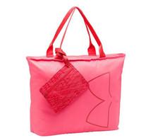 Wholesale briefcase 11 inch resale online - Women s U A Handbags Under Travel Duffle Tote Bags with Armor Tag Fashion Big Capacity Beach Handbag Shoulder Bag Laptop Bag Pouches