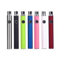smart blister großhandel-Bunte LO Batterien Vape Stift 510 Gewinde Vape Batterie E-Smart Vision 350Mah Co2 Öl 510 Patrone Blister Verpackung Schlagring