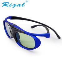 848d48a4577a6 Rigal GS1000 3D Óculos de Obturador Ativo DLP Projetor Óculos 3D Para XGIMI  Z3   Z4, Porcas G1   P2, BenQ, Optoma, Acer Projetor