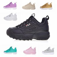 Wholesale camp wear online - FILA II Women Men FILE Shoes Special Section Sports Sneaker Increased Shoes Fashion Casual Wear Leather Running Shoes