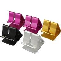 универсальная подставка оптовых-Горячий продавать универсальный алюминиевый сплав сотовый телефон крепление планшета настольный стол стенд держатель для iPhone Samsung
