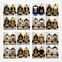 Wholesale brad marchand - 2018 Boston Bruins Hockey Jerseys 73 Charlie Mcavoy 33 Zdeno Chara 37 Patrice 63 Brad Marchand 88 David Pastrnak stitched Jersey