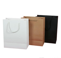 Wholesale boutiques paper bags - Fashion Creative Color Size Can Be Customized Clothing Bags Green Shopping Kraft Paper Bag Color Portable Gift Packaging boutique Bags