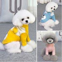 ropa de cachorro xs al por mayor-Mascota Perro Gato Cachorro Camisetas polo Traje Ropa Ropa Abrigos Tops Ropa Tamaño XS S M L XL para disfraces de mascotas