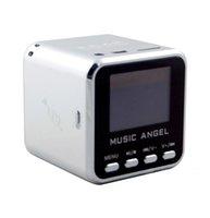 altavoces de micro amplificador al por mayor-MÚSICA ANGEL Mini altavoz USB Micro SD / TF HiFi Amplificador de audio MP3 / 4 Reproductor de música