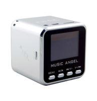 mikroverstärker-lautsprecher großhandel-MUSIC ANGEL Mini Lautsprecher USB Micro SD / TF HiFi Audio Verstärker MP3 / 4 Music Player