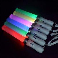 japan stick venda por atacado-Japão Blazed LED Vara Eletrônica Policromática Flash Glow Sticks Para Festa De Casamento Concerto Bar Holiday Supplies 15sj UU
