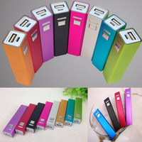 Wholesale battery charger iphone 5s online – Aluminum USB Battery Charger mAh Power Bank box DIY Kit for iPhone S S