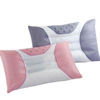 almofadas côncavas venda por atacado-Côncavo pescoço adultos Travesseiro com semente de Cassia e terapia magnética de memória de cuidados de saúde Travesseiro casa de cama
