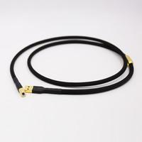 kablo olayı toptan satış-Çifti 5N OCC saf bakır DAC USB 2.0 kablo Ses dekoderleri Veri tel Ile Altın kaplama USB tak