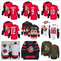 4f7fabf73 Brady Tkachuk Bobby Ryan Tom Pyatt Marian Gaborik Jersey 2019 Men Women  Youth Kid Ottawa Senators Winter Classic C A Patch Salute to Service