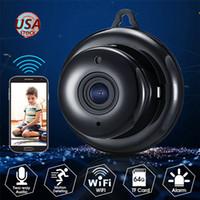 wifi webcamüberwachung großhandel-Giarreree 1080P 2MP Full HD 38DB Mikrofon Überwachungskamera WIFI IP Cam Recorder Babyphone Camcorder Sicherheit CCTV Webcam