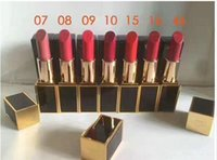 Wholesale lip brand names for sale - New brand makeup LIP STICK with english name on the stick