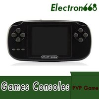 Wholesale 2.5 inch tv resale online - 168 Games PVP Childhood Classic Game Player With more than Games Inch Bit PVP Portable Handheld Game Console