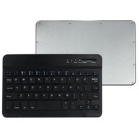 алюминиевый беспроводной bluetooth ipad оптовых-MOSUNX Multimedia Aluminum Wireless Bluetooth Keyboard For IOS Android Tablet PC Windows for iPad mini Futural Digital F20