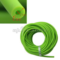 Wholesale hunting slingshot arrow - Length 10M Rubber Latex Tube 1.7 mm ID Green ELASTICA Bungee Slingshot Catapult Outdoor Hunting Rubber Tubing Replacement 1745