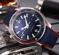 Wholesale planet ocean blue - Luxury AAA Brand Watches 43MM Planet Ocean Co-Axial 600M Asia CAL.8500 Movement Mechanical Automatic Mens Watches 215.32.44.21.01.001