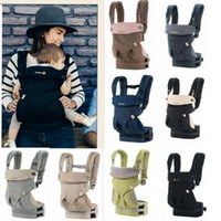 Wholesale baby carrier hip seat - Baby Carrier Toddler Sling Wrap Suspenders Kids Waist Stool Walkers Infant Safety Shoulders Backpack Multifunction Breathable Hip Seat LD27