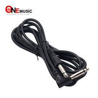 câble de 6,35 mm achat en gros de-2pcs / lot 3M câble d'ampli guitare 6.35mm 1/4