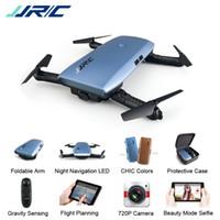 hd mini helikopter kamera toptan satış-JJRC H47 ELFIE Artı HD Kamera ile Yükseltilmiş Katlanabilir Kol RC Drone Quadcopter Helikopter VS H37 Mini Eachine E56