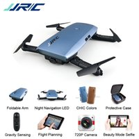 Wholesale rc helicopter upgrades - JJRC H47 ELFIE Plus with HD Camera Upgraded Foldable Arm RC Drone Quadcopter Helicopter VS H37 Mini Eachine E56