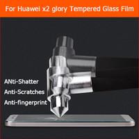 huawei lcd cam toptan satış-Huawei onur için temperli Cam filmi X2 GEM-703L Medya ped X2 4G 7.0