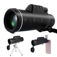 night vision monocular al por mayor-Monoculares de visión nocturna 40X60 HD Brújula telescopio monocular del paisaje de visión al aire libre
