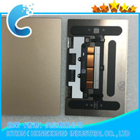 trackpad portátil al por mayor-Portátil original A1534 Trackpad Touchpad para Macbook Retina 12 '' A1534 Trackpad Touchpad 2015 Color oro