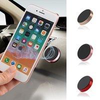 iphone halter für wand großhandel-Magnetischer Handy-Halter-Auto-Armaturenbrett beweglicher Haltewinkel-Handy-Berg-Halter-Standplatz-Universalmagnet-Wandaufkleber für iPhone