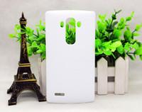 teléfonos móviles lg g3 al por mayor-Para LG Nexus6 / 5 / G3 / G4 / G5 / G6 / G2 Mini / G3 Mini / LV3 Sublimación 3D Teléfono móvil Estuche mate brillante Cubierta de teléfono con prensa de calor